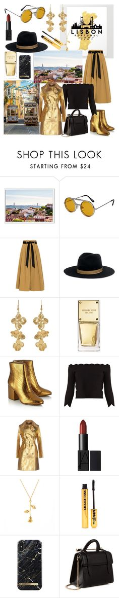 """Lisbon Travel Outfit👜"" by mdfletch ❤ liked on Polyvore featuring Spitfire, Temperley London, Janessa Leone, Kenneth Jay Lane, Michael Kors, Sam Edelman, Alexander McQueen, Nasty Gal, Strathberry and lisbontraveloutfit"