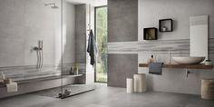 Supergres Art Pearl Graphite Bagno - fürdő / WC ötletek, minimál stílusban