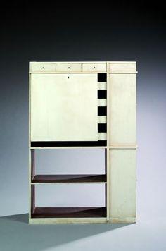 Eileen Gray et Jacques de Vos: meuble conçu pour la villa de rocquebrune cap martin
