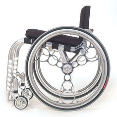 Chromed out. >>> See it. Believe it. Do it. Watch thousands of SCI videos at SPINALpedia.com