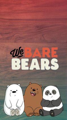 we bare bears lovers💜💛💚💙💓 -leonardo Cute Panda Wallpaper, Bear Wallpaper, Kawaii Wallpaper, Cute Wallpaper Backgrounds, Wallpaper Iphone Cute, Disney Wallpaper, We Bare Bears Wallpapers, Panda Wallpapers, Cute Cartoon Wallpapers
