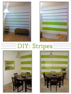 DIY- Stripes