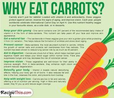 Cooking Tips Podcasts   Why Eat Carrot from RecipeThis.com