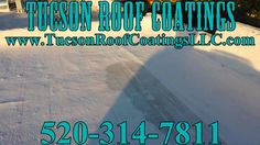 100% Silicone Top Coat System Tucson Roof Coatings