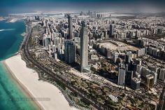 Corniche Road - Abu Dhabi | Corniche Road in Abu Dhabi, capital of the United Arab Emirates