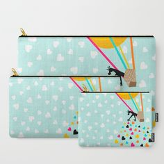 Keep spreading the love Carry-All Pouch