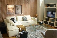 Well balanced asimetric livingroom...  Boconcept, Milla de oro Medellin