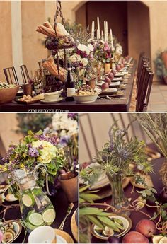 tuscan wedding food themes - Google Search