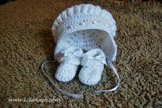 Easy Vintage Crochet Booties Free Pattern