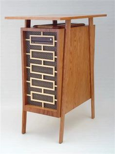 Jeffery Stephenson created a mid-century computer case worthy of Don Draper. Repinned by Secret Design Studio, Melbourne. www.secretdesignstudio.com
