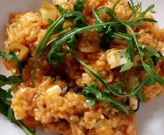 Rezept Risotto mit Feta und Rucola von Lu903 - Rezept der Kategorie Hauptgerichte mit Gemüse
