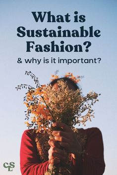 This post will answer all of your questions about sustainable fashion: what it sustainable fashion, why is sustainable fashion important, how you can get started with sustainable fashion (for free) plus where to find sustainable clothing brands. #sustainablefashion #ecofashion Sustainable Clothing Brands, Sustainable Textiles, Sustainable Practices, Sustainable Fashion, Sustainable Living, Fast Fashion Brands, Ethical Fashion Brands, Ethical Shopping, Circular Economy