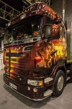 Int rieur camion am ricain custom trucks for Camion americain interieur