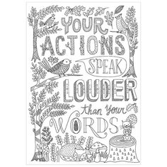 YOUR ACTIONS INSPIRE U POSTER