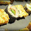 Si, comme dans ma famille, il y a des personnes récalcitrantes au poisson cru et à la nourriture japonaise en générale, vous pouvez opter...