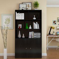 现代简约佳书柜特价容量1米书架书橱自由组合宽大置物架可可-淘宝网