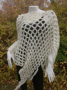 Winter White, Honey, Wraps, Moon, Trending Outfits, Crochet, Handmade Gifts, Etsy, Awesome