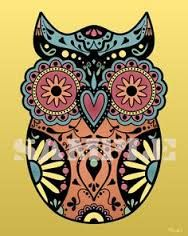 Image result for colourful skull manly