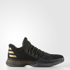 newest bc0d3 2f48b adidas Harden Vol. 1 Pack Imma Be A Star Shoes Sizes Black Gold
