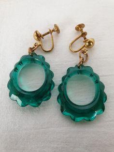 Plastic Earrings, Drop Earrings, My Collection, Vintage, Jewelry, Fashion, Moda, Jewlery, Jewerly