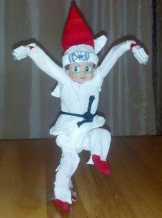 Karate Kid Elf