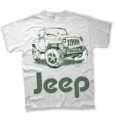JEEP Custom Tee Shirt,, Kids Sizes Available Toddler & Youth by TJaysTees on Etsy https://www.etsy.com/listing/288646589/jeep-custom-tee-shirt-kids-sizes