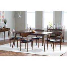 Belham Living Carter Mid-Century Modern Dining Table - Dining Tables at Hayneedle