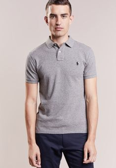 f43341b0500d7b Ralph Lauren Polos Men canterbury heather SLIM FIT - Polo shirt Today s  Deals