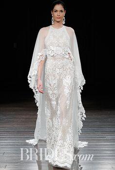 Naeem Khan ナイーム・カーンのウエディングドレス。全体のレース記事が豪華に演出してくれる。#wedding dress #ナイーム・カーン #Naeem Khan #ウエディングドレス