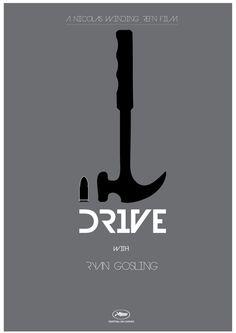 Drive (2011) - Minimal Movie Poster by Jim Diamas #minimalmovieposter #alternativemovieposter #jimdiamas