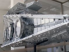 The biggest, most accurate Lego Imperial Star Destroyer ever built