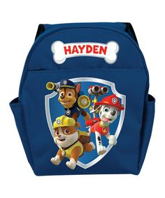 Look at this #zulilyfind! PAW Patrol Ready for Adventure Personalized Backpack by PAW Patrol #zulilyfinds