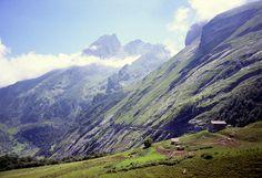 Col d'Aubisque (via col du Soulor, Pyrénées) - 1709m - 18,4km à 7,1% (10% maxi) - Dénivelé 1200m