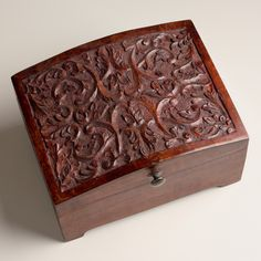 World Market Jewelry Box Beauteous One Of My Favorite Discoveries At Worldmarket Tiered Carved Decorating Inspiration
