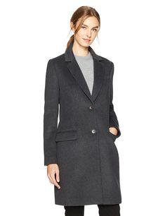 HAVEN OUTERWEAR Women's Single Breasted Walker Wool Coat