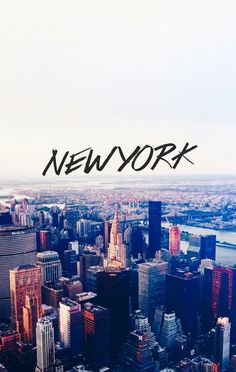 New York - background, wallpaper, quotes | Made by breeLferguson