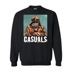 CASUALS Sweatshirt Black