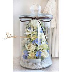 Flowers In Jars, Mini Bottles, Ohana, Preserves, Floral Arrangements, Table Decorations, Image, Home Decor, Glass Boat