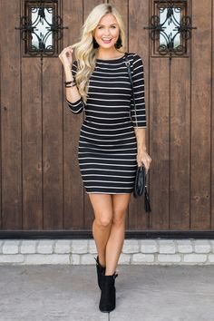 984fecd9f05 20 Best Striped dress outfit images