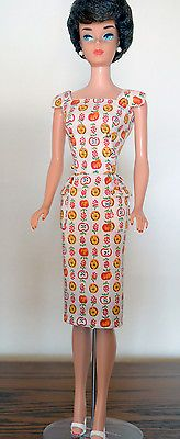 Rare 1960's vintage Barbie sheath dress Japanese exclusive only sold in Japan