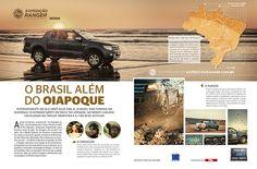 Publieditorial sobre a Expedição Ranger, veiculado nas revistas Viagem e Turismo e Quatro Rodas.
