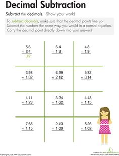 math worksheet : adding and subtracting with decimals worksheets this worksheet was  : Adding And Subtracting Decimals Worksheets 4th Grade