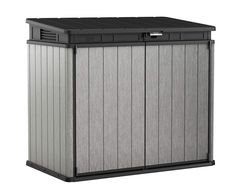 Keter Elite Store 4.6 x 2.7 Resin Outdoor Storage Shed with Floor for Trash Cans and Yard Tools * (paid link) Be sure to check out this awesome product.