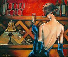 *Trish Biddle ~ Art Déco painter | Tutt'Art@ | Pittura * Scultura * Poesia * Musica |