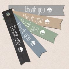 Burlap DIY Rustic Thank you tag INSTANT DOWNLOAD cupcake gift wrap printable tags printable chalkboard favor tags blue brown olive