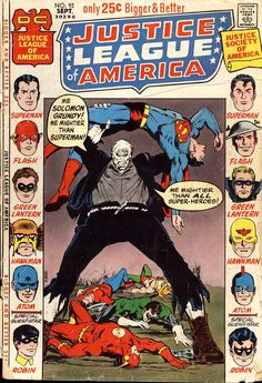 Justice League of America (1960) Issue #92 - Read Justice League of America (1960) Issue #92 comic online in high quality
