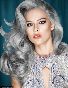 Hairstyle Ideas for Grey Hair :http://womenhairstyleideas2015.com/hairstyle-ideas-for-grey-hair.html/