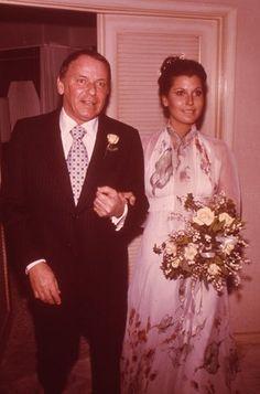 Frank Sinatra Daughter Tina Rare Wedding Photo Original 35Mm Transparency Slide Silverscreen