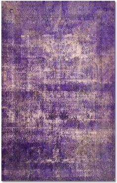 Vintage persian wool rug from Modern Weave.