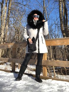 One of my favorite to keep me warm & cozy throughout the cold 😎 Instagram Shoes, Canadian Winter, Business Look, Evening Shoes, Short Tops, Zara Shoes, Party Looks, City Chic, Warm And Cozy